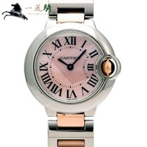 Cartier Ballon Bleu 28mm pre-owned 28mm Pink Gold/Steel