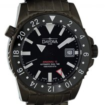 Davosa Argonautic Dual Time Steel 42mm Black