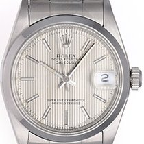 Rolex Lady-Datejust pre-owned 31mm Silver Date Steel
