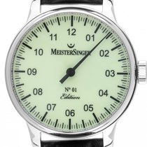 Meistersinger Steel 43mm Automatic ED106ZG pre-owned