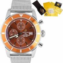 Breitling Superocean Héritage Chronograph Steel 46mm Orange United States of America, New York, Massapequa Park