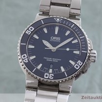 Oris Steel 43.5mm Automatic 0173376534155-0782601 pre-owned