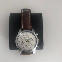 Breitling Transocean Chronograph 1461 Steel Silver