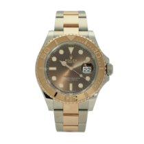Rolex Yacht-Master 40 Gold/Steel 40mm Brown No numerals United Kingdom, Liverpool