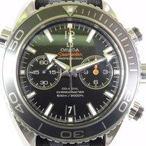 Omega Seamaster Planet Ocean Chronograph Ατσάλι 45,5mm Μαύρο