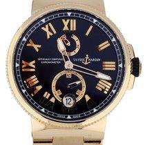 Ulysse Nardin Marine Chronometer Manufacture 1186-122 подержанные