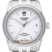 Tudor Glamour Date Stahl 36mm Weiß Deutschland, Schwabach