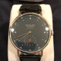 NOMOS Metro Neomatik Steel 39.5mm Blue No numerals United States of America, Pennsylvania, Chalfont
