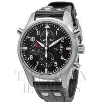 IWC Pilot Double Chronograph Steel 46mm Black