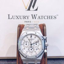 Audemars Piguet Royal Oak Chronograph occasion Blanc or blanc