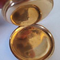 Mathey-Tissot Zuto zlato Rucno navijanje Bjel Rimski brojevi rabljen