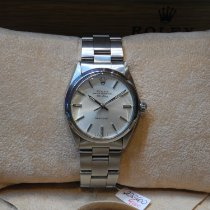 Rolex Air King Steel 34mm Silver No numerals