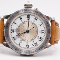 Longines Lindbergh Hour Angle pre-owned 47mm White Leather