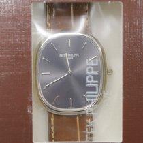 百達翡麗 (Patek Philippe) Ellipse 18k Platinum Gray Automatic...
