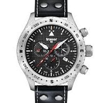 Traser Chronograph 46mm Quartz 2017 new Black
