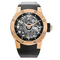 Richard Mille RM063-01 Dizzy Hands Automatic Titane & Or Rouge
