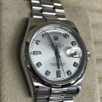 Rolex Day-Date 36 pre-owned 36mm Platinum