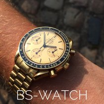 Omega Speedmaster Reduced 18K YELLOW GOLD PERFECT