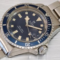 "Tudor Submariner Oysterdate Prince "" Snowflake "" blue dial 9411-0"