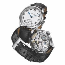 Stowa new Manual winding Display back Small seconds Tempered blue hands Only Original Parts 41mm Steel Sapphire crystal