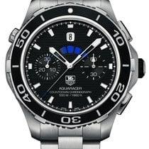 TAG Heuer Aquaracer 500M neu 2020 Automatik Chronograph Uhr mit Original-Box und Original-Papieren CAK211A.BA0833