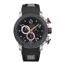 Liv Watches Chronograph Quartz 2018 new Black