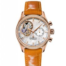 Zenith El Primero Chronomaster Lady Rose gold Mother of pearl