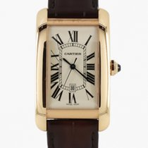 Cartier Tank Américaine Rose gold 45mm White Roman numerals United Kingdom, London