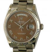 Rolex Day-Date 36 neu Automatik Uhr mit Original-Box und Original-Papieren 118239