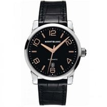 Montblanc Steel 42mm Automatic 101551 new