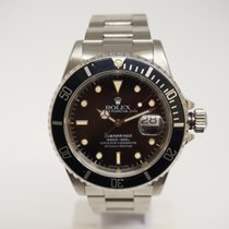 Rolex pre-owned Automatic 40mm Black Sapphire Glass 30 ATM