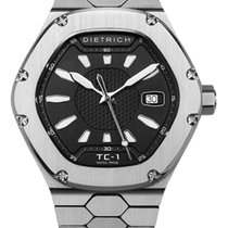 Dietrich Steel Automatic TC-1 STAINLESS STEEL BLACK new