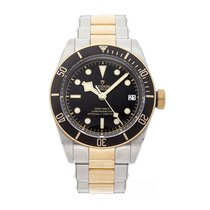 Tudor Black Bay S&G Steel 41mm Black No numerals