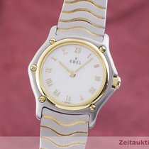 Ebel pre-owned Quartz 24mm Mother of pearl Sapphire Glass