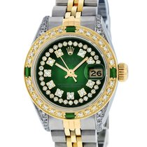 Rolex Lady-Datejust Steel 26mm Green United States of America, California, Los Angeles