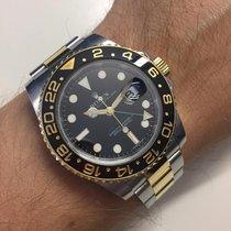 Rolex GMT-Master II Altın/Çelik 40mm Siyah Sayılar yok Türkiye, Bursa