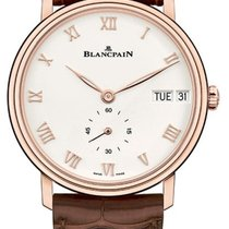 Blancpain Villeret 6652 3642 55A New Rose gold 40mm Automatic