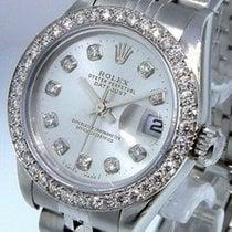 Rolex Oyster Perpetual Lady Date Acier 26mm Argent