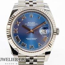 Rolex Datejust II Stahl 41mm Blau Keine Ziffern Deutschland, Baden-Baden