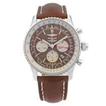 Breitling Navitimer Rattrapante Steel 45mm Brown No numerals United States of America, New York, NYC