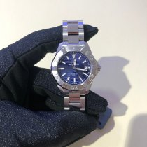 TAG Heuer Aquaracer Lady Zeljezo 35mm Plav-modar