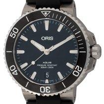 Oris Aquis Date 01-733-7732-4124 pre-owned