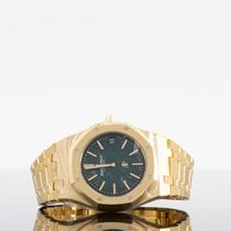Audemars Piguet Royal Oak Yellow gold 39mm Green No numerals UAE, dubai