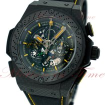 Hublot King Power Carbono 48mm Transparente Sin cifras