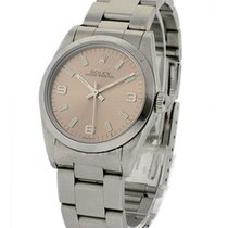 Rolex Used 77080 Steel Mid Size - circa 1993 - Salmon Dial