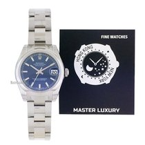 Rolex Lady-Datejust Acero 31mm Azul