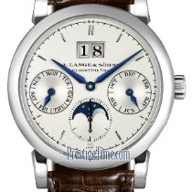 A. Lange & Söhne White gold 38.5mm Automatic Saxonia new United States of America, New York, Airmont