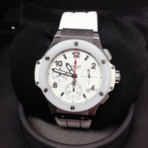 Hublot Chronograph Automatic 2013 pre-owned Big Bang 41 mm White