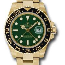 Rolex 116718 Date GMT-Master II 18K Yellow Gold & Ceramic...