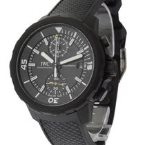 IWC IW379502 Aquatimer Chronograph in Black DLC Treated Steel...